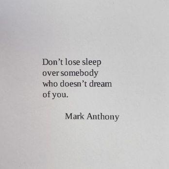 lose sleep